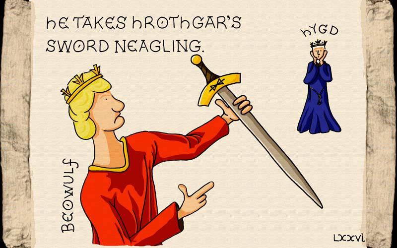 Beowulf sword